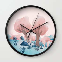 Winter landscapes 1 Wall Clock