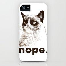 GRUMPY CAT - Nope (version 2) iPhone (5, 5s) Slim Case