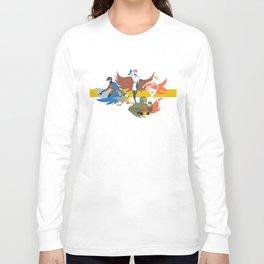 Gatchaman Long Sleeve T-shirt