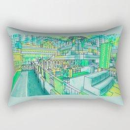 Blocks and more blocks Rectangular Pillow