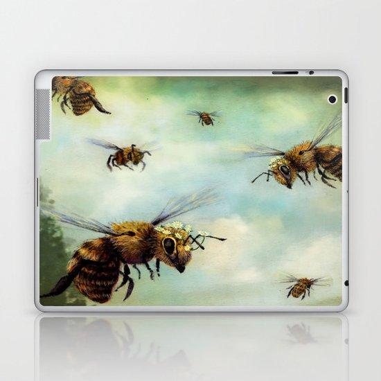 Crown of Bees Laptop & iPad Skin