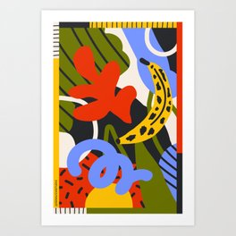 Jungle Print Art Print