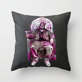 Notorious Big *King* Throw Pillow