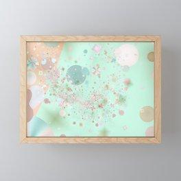 Peppermint and Butterscotch Framed Mini Art Print