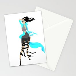 Miss Angorian Revealed Stationery Cards