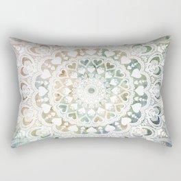 Love Mandala Earth Rectangular Pillow