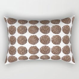 chocolate truffle #society6 #decor #buyart Rectangular Pillow