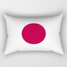 National flag of Japan Rectangular Pillow