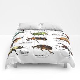 Beetles of North America Comforters