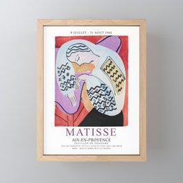 Matisse Exhibition - Aix-en-Provence - The Dream Artwork Framed Mini Art Print