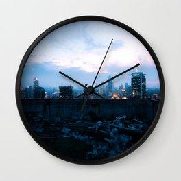 Walking Through Dreams Wall Clock