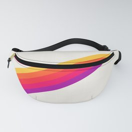 VHS Rainbow 80s Video Tape Fanny Pack