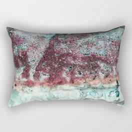 Beach Vibe in Pink Rectangular Pillow