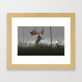 The Endless Forest - BZD Framed Art Print