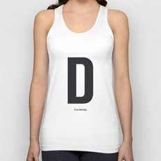 some character 004 Unisex Tank Top