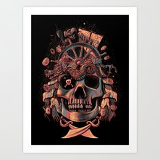 Dead Pirate's Gold Art Print