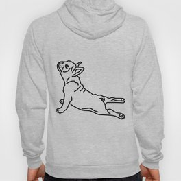 Yoga Frenchie Hoody