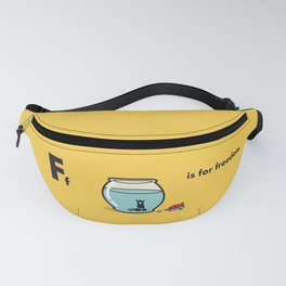 F is for freedom - the irony Fanny Pack