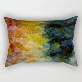 Terrified Rectangular Pillow