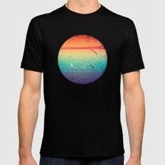 Lapse In Perception Mens Fitted Tee Black LARGE