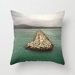 A Dream of Greece Throw Pillow