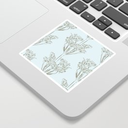 Seed head repeat Sticker