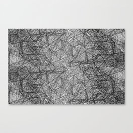 Pattern psychedelia Canvas Print