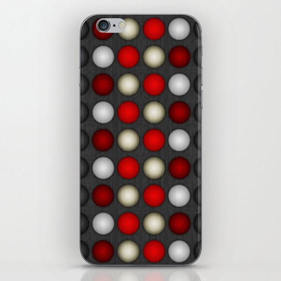 Dark Romance Polka iPhone & iPod Skin