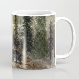 Mountain Black Bear Coffee Mug