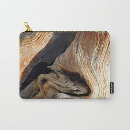 Whorl Juniper Tree Trunk Carry-All Pouch