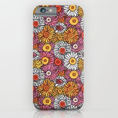 Daisy Pattern iPhone 6s Slim Case