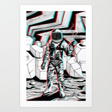 Fear What is Unknown Art Print