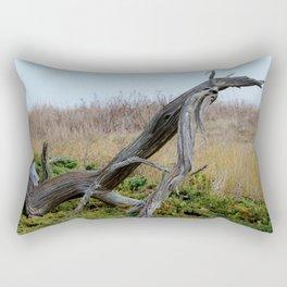 Coastal Driftwood Rectangular Pillow