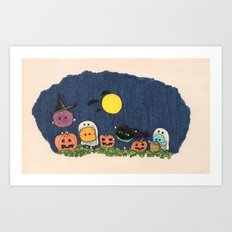 Pelus's Halloween Art Print