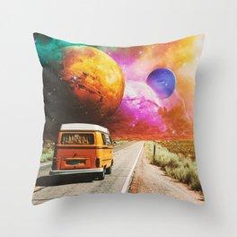 Explore Throw Pillow