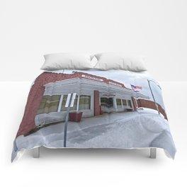 City Hall - Ironton, Missouri Comforters