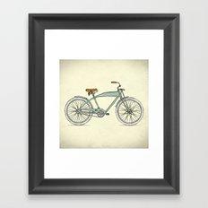 Retro-bicycles (1903) Framed Art Print