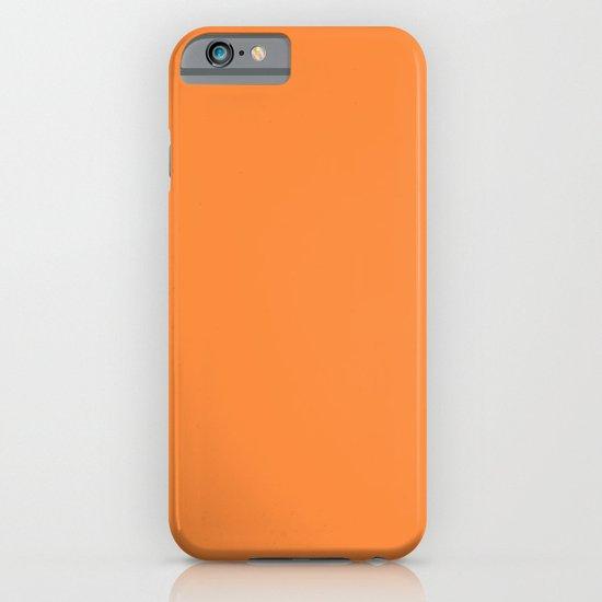 Orange Lollipop iPhone & iPod Case