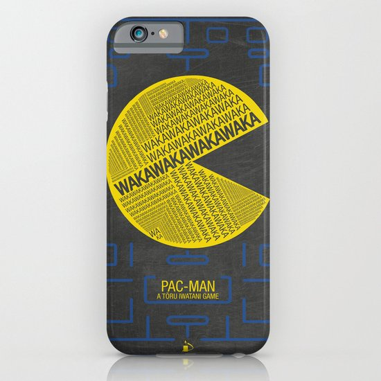 Pac-Man Typography iPhone & iPod Case