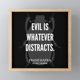 68   |  Franz Kafka Quotes | 190517 Framed Mini Art Print