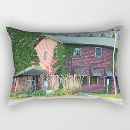 Old West End Mary Manse College now Children's Theatre Workshop Rectangular Pillow
