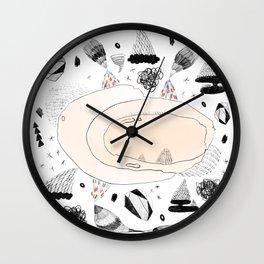 skittle mountains Wall Clock