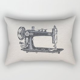 Sewing machine Rectangular Pillow