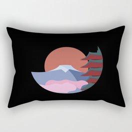 Japan's Mountain Fuji Rectangular Pillow