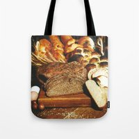 food Tote Bags featuring Food by Kathrin Legg