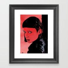Lisbeth Salander Mara Rooney Framed Art Print