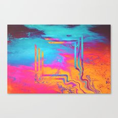 Running To The Sea. Canvas Print