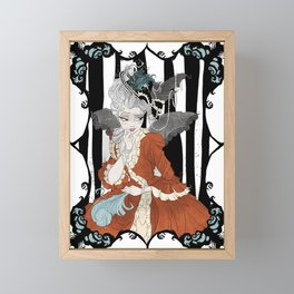 Madame Batshit Framed Mini Art Print