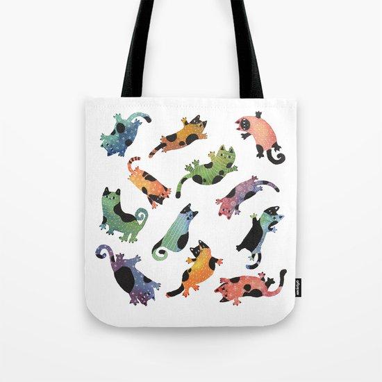 12 cats Tote Bag