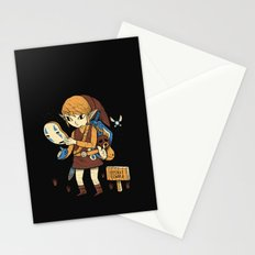 you got the no face mask! Stationery Cards